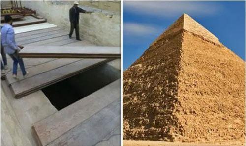 Đại kim tự tháp Ai Cập được xây dựng từ cách đây hơn 4.000 năm