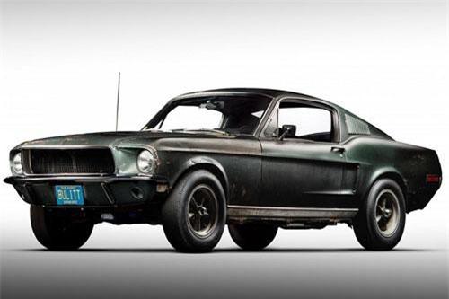 Ford Mustang GT đời 1968.