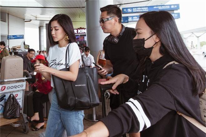 Bích Phương xinh đẹp đáng gờm, chảnh xả xuất hiện tại sân bay sang Indonesia dự show khủng với MAMAMOO, Monsta X - Ảnh 3.