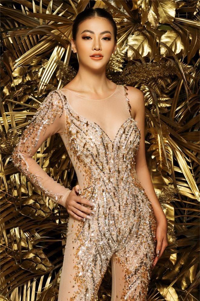Phương Khánh khoe vẻ gợi cảm khi mặc lại trang phục gây ấn tượng tại Miss Earth - Ảnh 8.