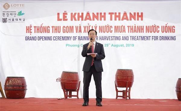 Ông Kim Dong-bae, Đại sứ Hàn Quốc tại Việt Nam.
