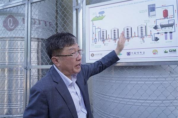 Giáo sư Han Moo Young chia sẻ về dự án