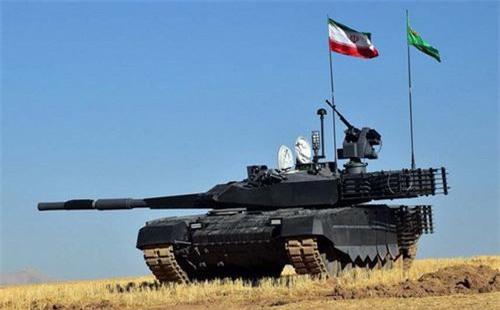 Xe tăng chiến đấu chủ lực Karrar của Iran. Ảnh: South Front.