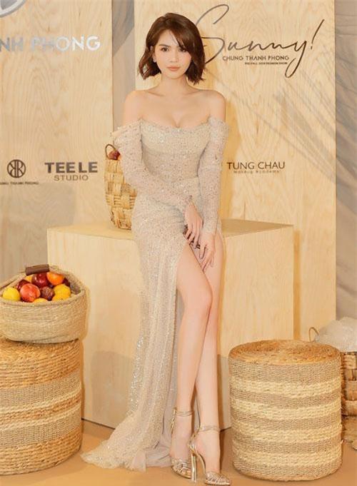 Cô nàng ngày càng hoàn thiện phong cách thời trang và nhận được nhiều lời khen.