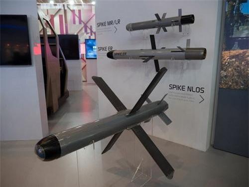 Tên lửa chống tăng tầm xa Spike NLOS của Israel. Ảnh: Defence Blog.