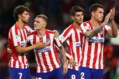 10. Atletico Madrid (giá trị đội hình: 829,4 triệu euro).