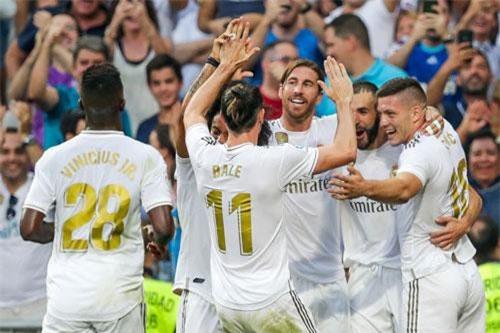 2. Real Madrid (giá trị đội hình: 1,18 tỷ euro).