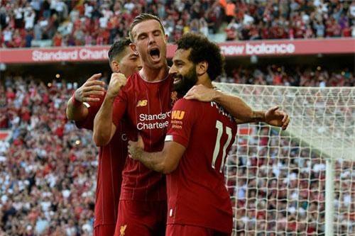 4. Liverpool (giá trị đội hình: 1,07 tỷ euro).