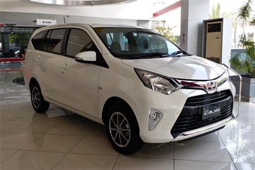 5. Toyota Calya (doanh số: 5.167 chiếc).