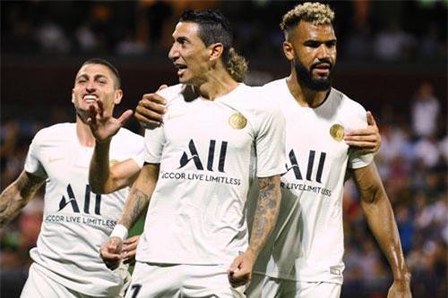 6. Paris Saint-Germain (giá trị đội hình:  984 triệu euro).
