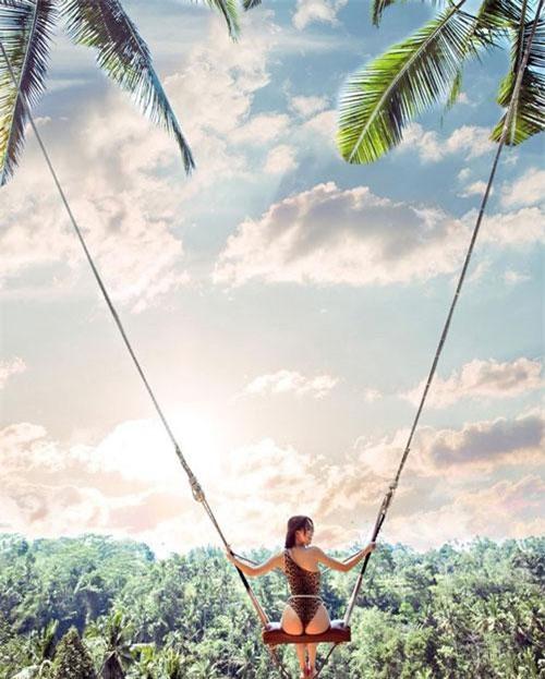 Ngọc Trinh có chuyến du lịch sang chảnh ở Bali.