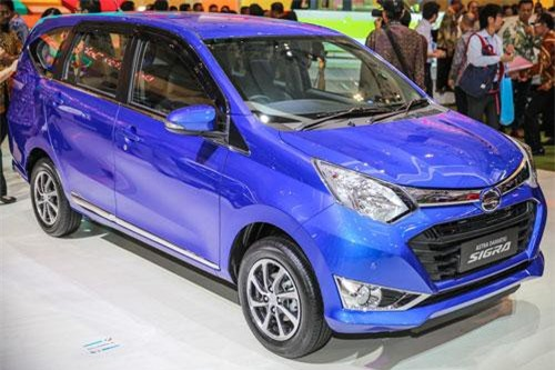 7. Daihatsu Sigra (doanh số: 3.757 chiếc).