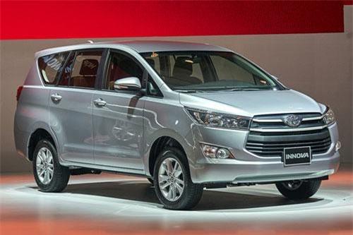 9. Toyota Innova (doanh số: 3.414 chiếc).