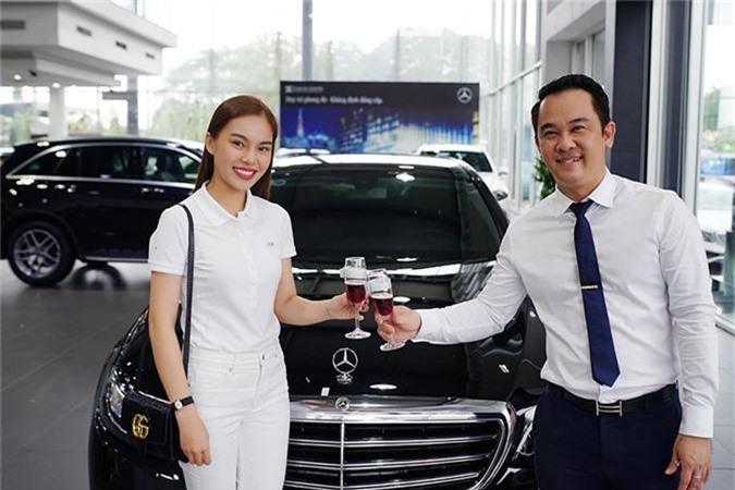 Giang Hong Ngoc tau xe sang Mercedes-Benz E-Class hon 2 ty-Hinh-2