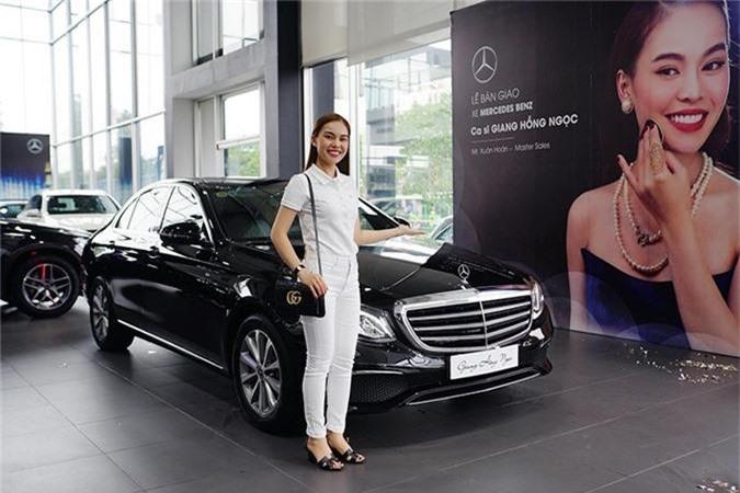 Giang Hong Ngoc tau xe sang Mercedes-Benz E-Class hon 2 ty-Hinh-5