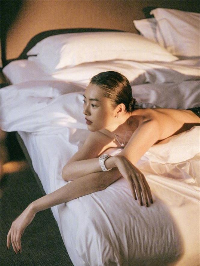 Dáng vóc hoàn hảo của mỹ nhân nội y gốc Hoa Liu Wen - ảnh 16