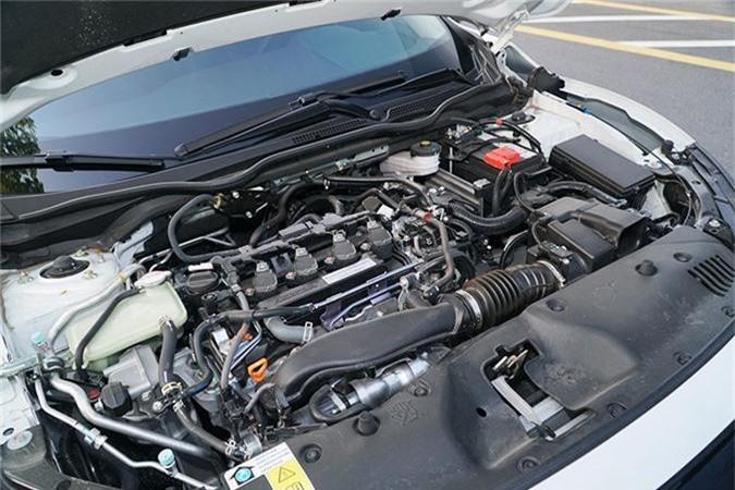 Trai nghiem Honda Civic RS moi tu 929 trieu tai Viet Nam-Hinh-13