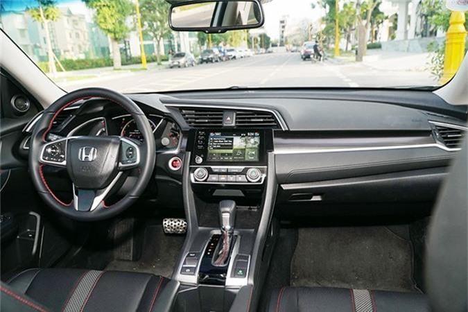 Trai nghiem Honda Civic RS moi tu 929 trieu tai Viet Nam-Hinh-6