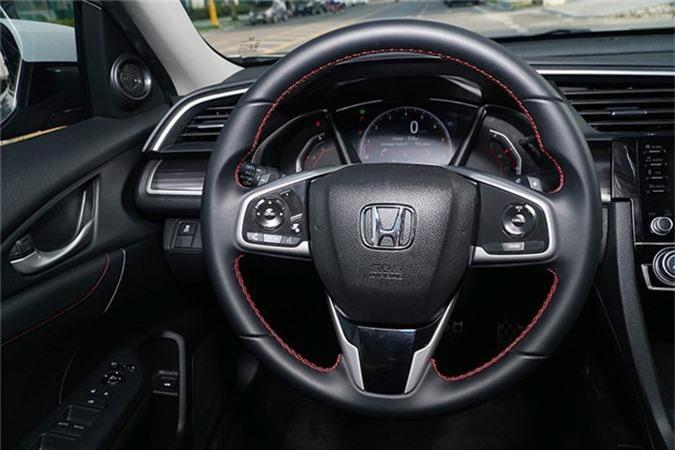 Trai nghiem Honda Civic RS moi tu 929 trieu tai Viet Nam-Hinh-7