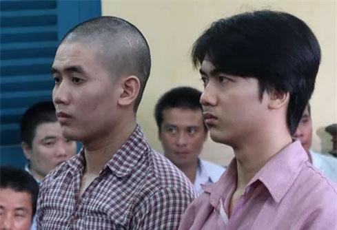 Bị cáo Nguyên (bìa trái) lãnh án tử hình.