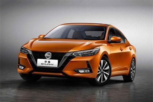 Nissan Sylphy (doanh số: 32.,294 chiếc).