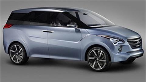 Hình ảnh xe MPV sắp được Hyundai ra mắt.