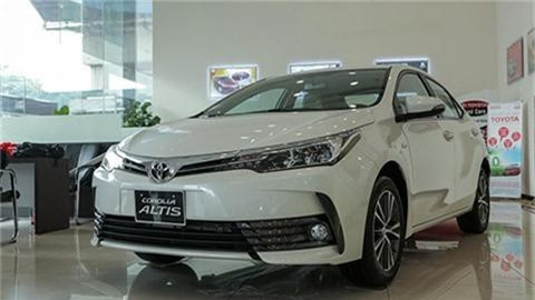 Toyota Corolla Altis 2020.