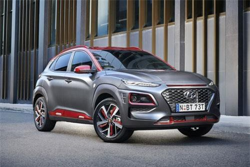 Hyundai Kona Iron Man Edition 2019.