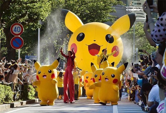 Quốc gia có lễ hội Pikachu nổi tiếng là Nhật Bản