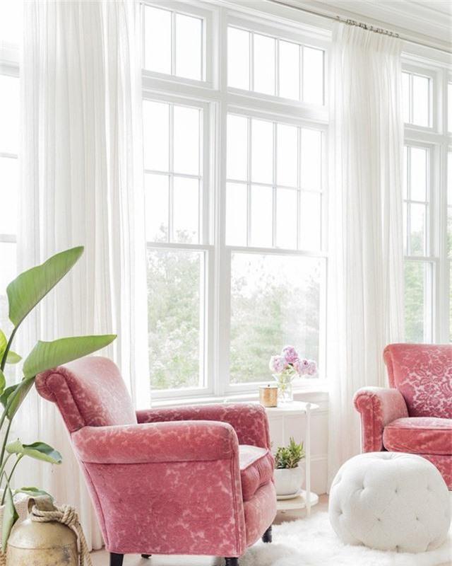 Điểm một chút hồng trong nhà sẽ khiến không gian sống trở nên nhẹ nhàng, dễ chịu hơn rất nhiều - Ảnh 12.