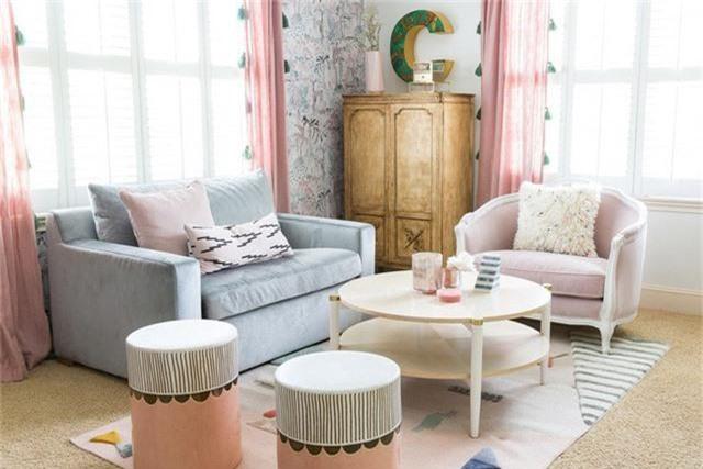 Điểm một chút hồng trong nhà sẽ khiến không gian sống trở nên nhẹ nhàng, dễ chịu hơn rất nhiều - Ảnh 3.