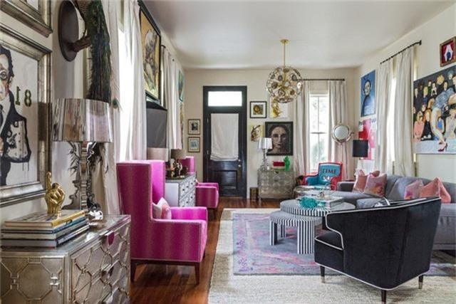 Điểm một chút hồng trong nhà sẽ khiến không gian sống trở nên nhẹ nhàng, dễ chịu hơn rất nhiều - Ảnh 8.