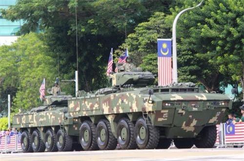 Xe thiết giáp đa năng AV8 Gempita cũng do Malaysia hợp tác cùng Thổ Nhĩ Kỳ sản xuất. Ảnh: Dambiev