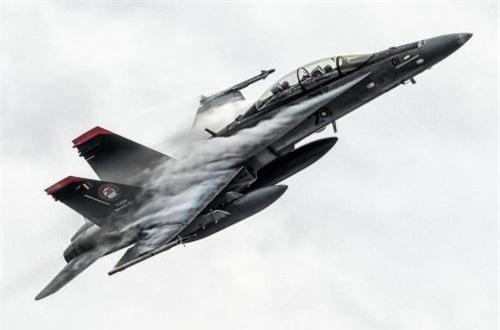 Tiêm kích F/A-18D mua của Mỹ. Ảnh: Dambiev