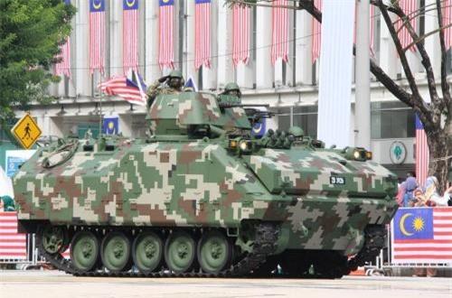 Xe chiến đấu bộ binh ACV 300 Adnan do Thổ Nhĩ Kỳ và Malaysia hợp tác sản xuất. Ảnh: Dambiev