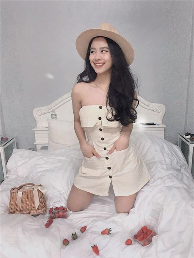 Vóc dáng nuột nà của hot girl Instagram vướng tin đồn tình tay ba - 6