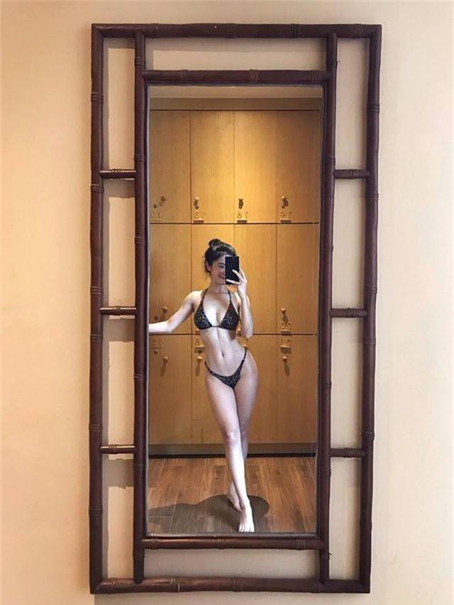Vóc dáng nuột nà của hot girl Instagram vướng tin đồn tình tay ba - 7