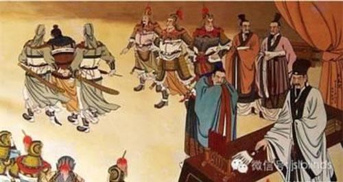 Lưu Bị có được sự trợ giúp của Gia Cát Lượng có thể nói như hổ mọc thêm cánh. Nếu so sánh với Quan Vũ, Trương Phi đều là hảo huynh đệ của Lưu Bị thì cũng không thể so sánh được với mối thâm tình giữa Lưu Bị và Gia Cát Lượng. Đặc biệt, sau khi Tào Phi xưng đế, mọi người đều cho rằng Hán Hiến Đế đã chết, nên đều khuyên Lưu Bị xưng đế. Ban đầu Lưu Bị không đồng ý, nhưng chỉ có một câu của Gia Cát Lượng đã khiến ông đổi ý.