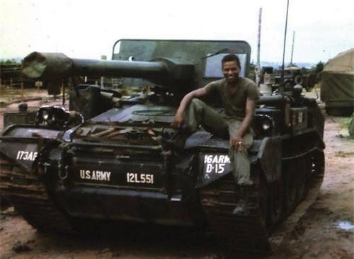 Pháo chống tăng tự hành M56 Scorpion không phải là một vũ khí thành công trên chiến trường Việt Nam. Ảnh: War History Online.