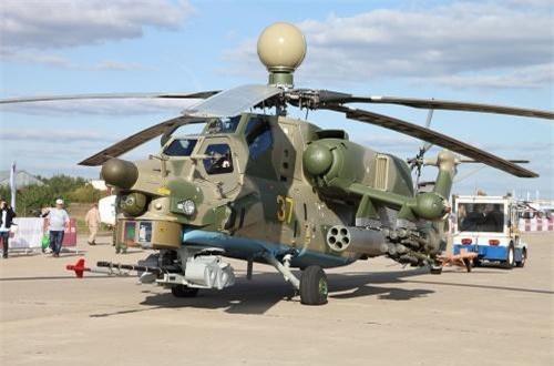 Hãng thông tấn TASS dẫn nguồn tin từ cơ quan hợp tác quân sự - kỹ thuật Liên bang Nga (FMTS) cho hay, 6 khách hàng nước ngoài đã gửi đề nghị phía Nga cung cấp trực thăng tấn công Mi-28NE. Ảnh: Wikipedia