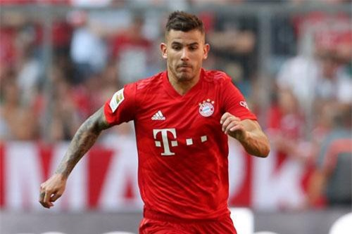 =6. Lucas Hernandez (Atletico Madrid đến Bayern Munich, 72 triệu bảng).