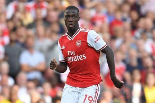 =6. Nicolas Pepe (Lille sang Arsenal 79 triệu euro (72 triệu bảng).