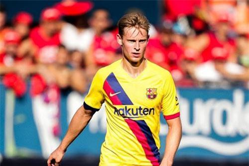 =8. Frenkie de Jong (Ajax Amsterdam tới Barcelona, 68 triệu bảng).