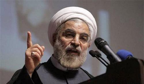 Tổng thống Iran Hassan Rouhani.(Ảnh: The Nation)