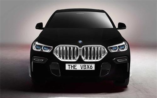 BMW X6 Vantablack.