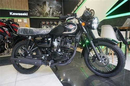 Kawasaki W175 SE. Ảnh: Kawasaki Việt Nam.