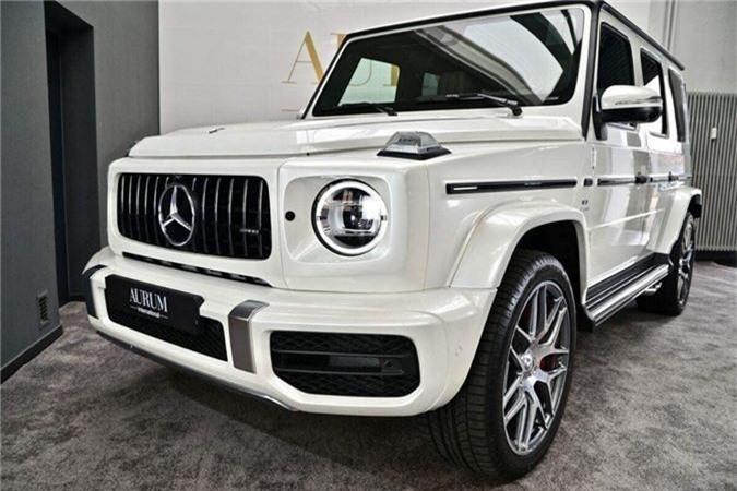 Đại gia Hà Nội tậu Mercedes-AMG G63 màu trắng đầu tiên tại Việt Nam