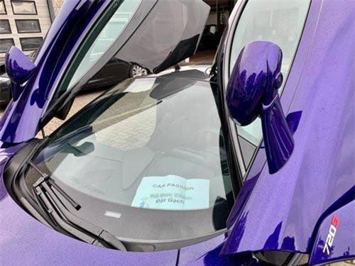 Đại gia Vũng Tàu tậu McLaren 720S màu tím siêu độc.
