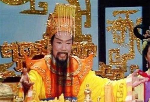 Tạo hình Ngọc Hoàng trong phim.
