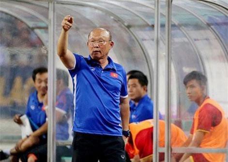 HLV Park Hang Seo rất thành công khi đối đầu với Thái Lan